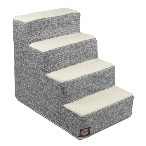Navy Blue Palette Heathered 4 Steps Pet Stairs