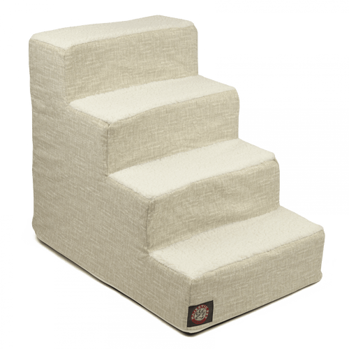 Neutral Tan Palette Heathered 4 Steps Pet Stairs