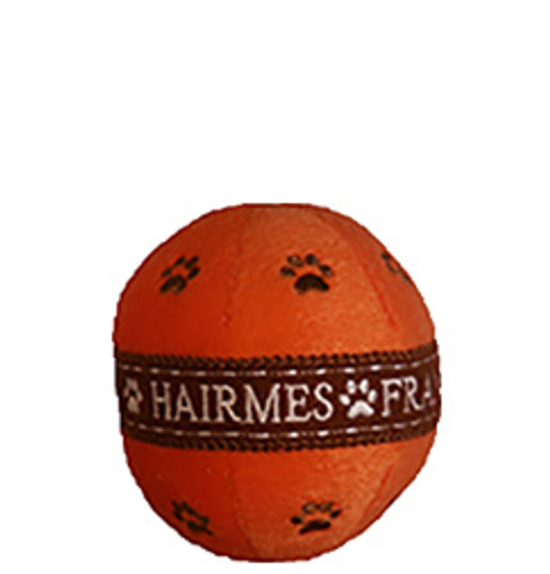 hairmes ball dog toy with squeaker