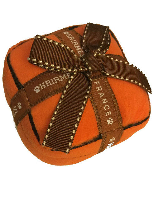 Hairmes Box Squeaker Dog Toy