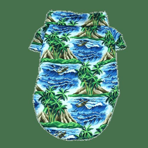 Dog Hawaiian Shirt - Island Life