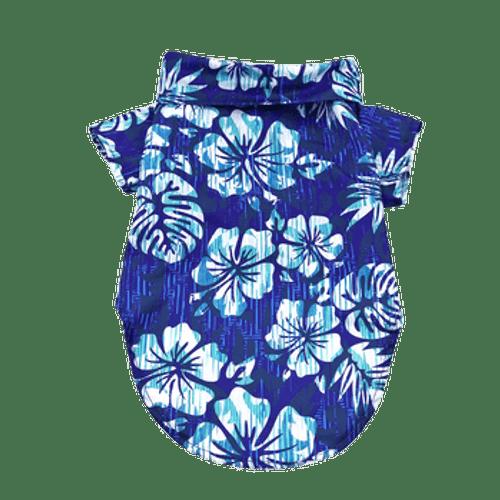 Dog Hawaiian Shirt - Vintage Hibiscus