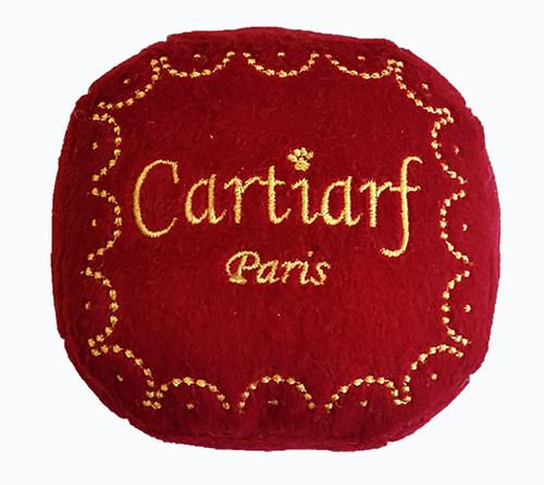 cartiarf gift box dog toy