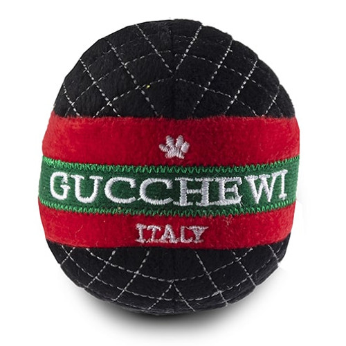 Gucchewi Ball Dog Toy with Squeaker