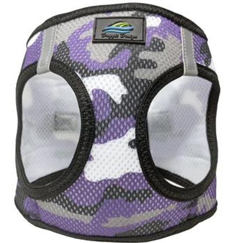 Mesh Dog Harness - Purple Camo