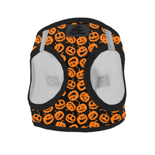 Mesh Dog Harness - Halloween Jack-o-Lanterns
