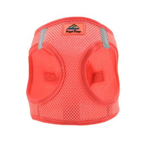 Mesh Dog Harness - Solid Coral