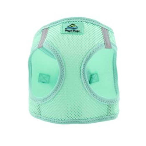 Mesh Dog Harness - Solid Teal