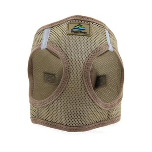 Mesh Dog Harness - Solid Fossil Brown
