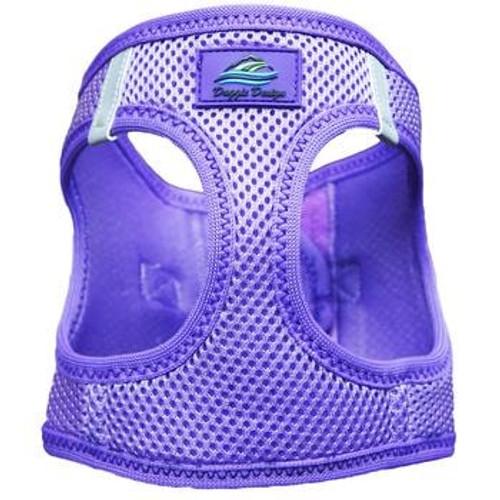 Mesh Dog Harness - Solid Paisley Purple