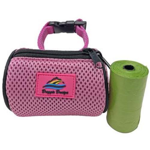 Dog Poop Bag Holder - Candy Pink