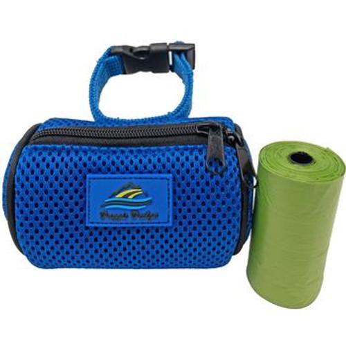 Dog Poop Bag Holder - Cobalt Blue