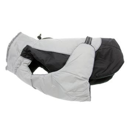 Dog Coat - Alpine All-Weather - Black and Gray