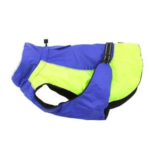 Dog Coat - Alpine All-Weather - Blue and Green