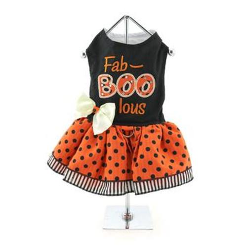 Halloween Dog Dress - Fab-BOO-lous