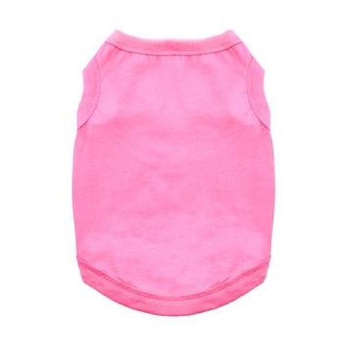 Dog Tank Top - Carnation Pink