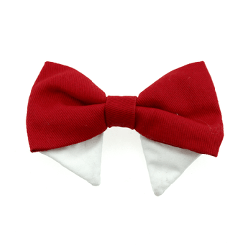 Dog Bow Tie - Solid Red