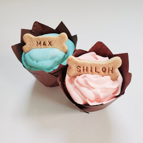 Dog Cupcakes - Giant Pup-cakes (Set of 2)