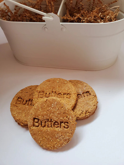 Dog Treats - Round Bananas for Peanut Butter and Oats