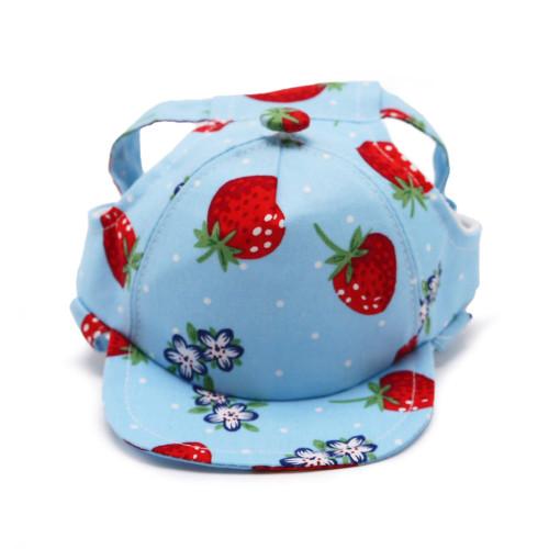 Dog Visor Hat - Strawberry