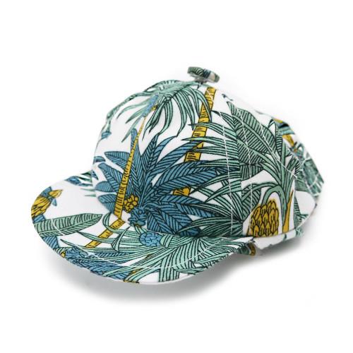 Dog Visor Hat - Tropical Leaf