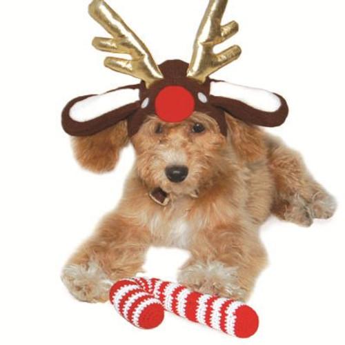 Dog Hat - Reindeer