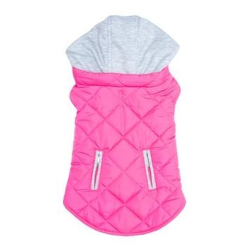 Dog Sweatshirt Hoodie - Pink Weekender