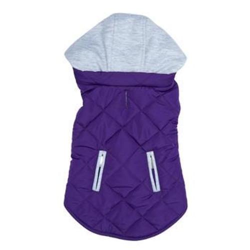 Dog Sweatshirt Hoodie - Purple Weekender