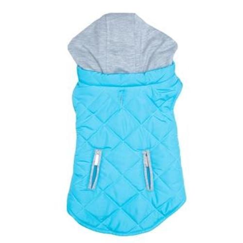 Dog Sweatshirt Hoodie - Light Blue Weekender