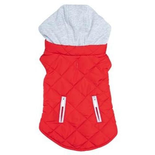 Dog Sweatshirt Hoodie - Red Weekender