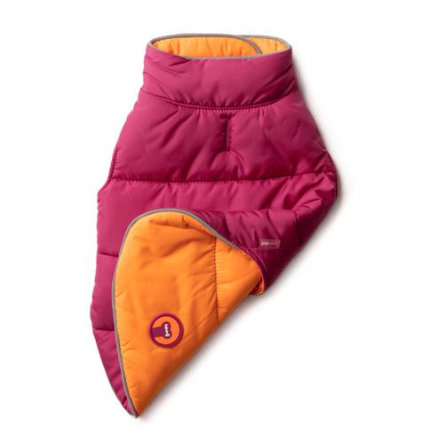 Reversible Puffer - Hot Pink & Orange