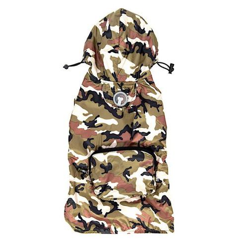 Packaway Dog Raincoat - Camo