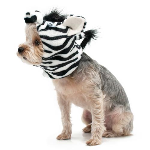 Dog Hat - Zebra