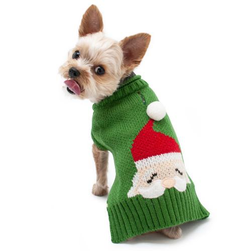 Dog Sweater - Santa Face