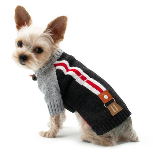 Dog Sweater - Suspender