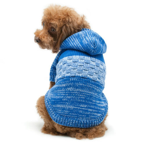 Dog Sweater Coat - Color block