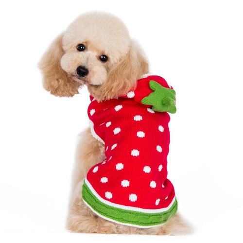 Dog Sweater - Strawberry