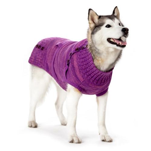 Dog Sweater - Purple Multiway