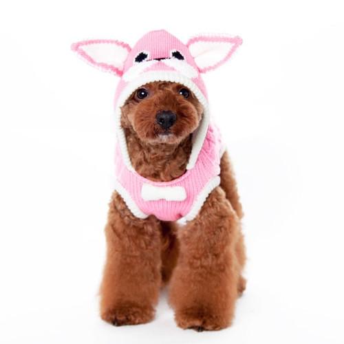 Dog Sweater - Pink Bunny