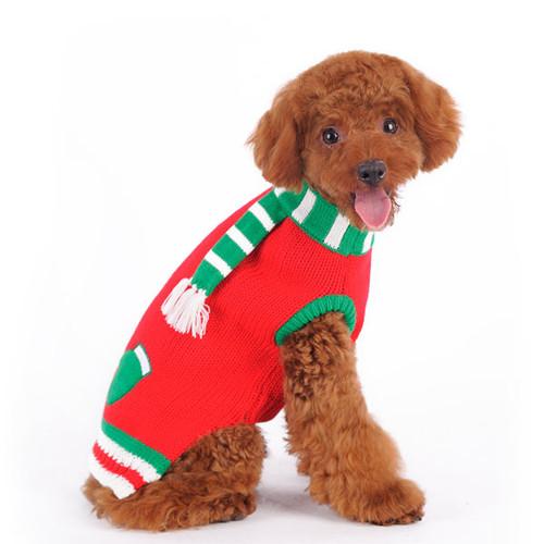 Dog Sweater - Mitten Scarf