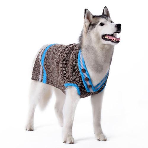 Dog Sweater - City V-Neck