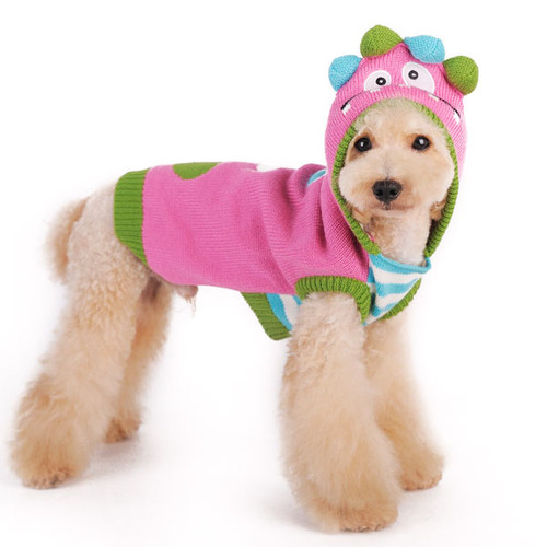 Dog Sweater - Funny Monster