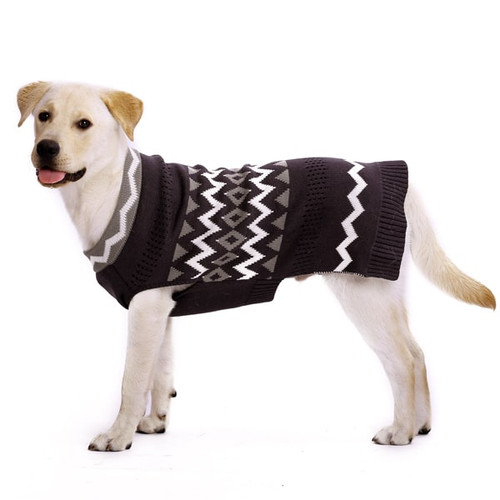 Dog Sweater - Zigzag