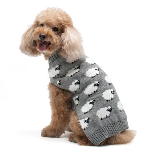 Dog Sweater - Sheep