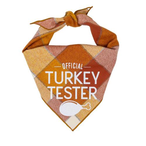 Dog Bandana - Official Turkey Tester