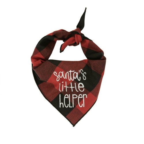 Christmas Dog Bandana - Santa's Little Red