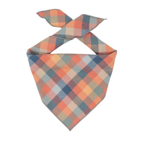 Dog Bandana - Peach Luxe Flannel