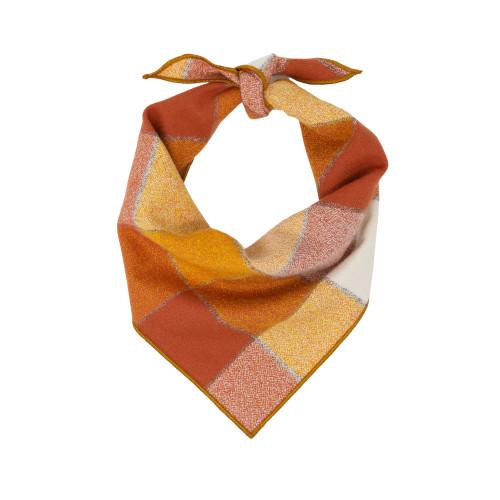 Dog Bandana - Rust Plaid Luxe Flannel