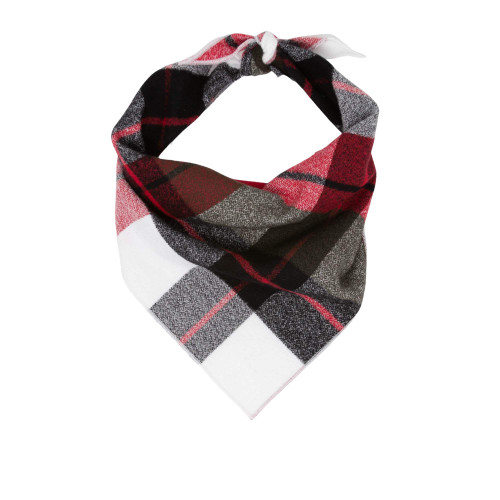 Dog Bandana - Red Plaid Luxe Flannel