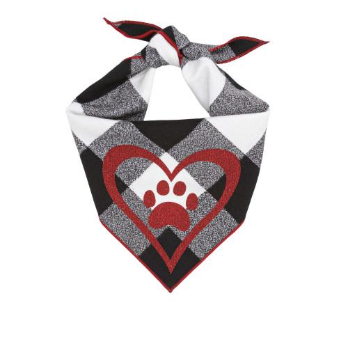 Dog Bandana - Red Heart Valentine
